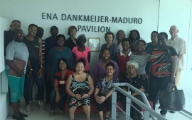 Reclaiming history workshop at Mongui Maduro Library
